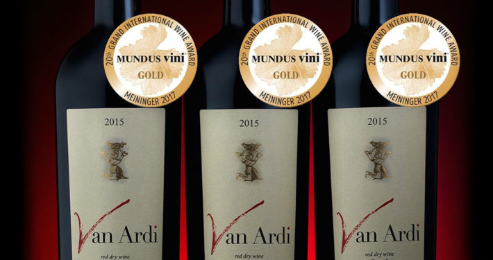 Van Ardi röda viner, Armenien